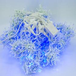Perdea Lumini de exterior, 3m x 10m, 3200 Led Lumina Albastra interconectabila, 3200W-B