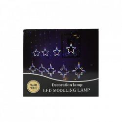 Instalatie in forma de Romburi cu Stele , BL-379-CLD, Lumina Calda