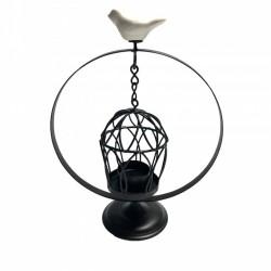 Lampa din fier forjat pentru lumanare