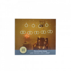 Instalatie in forma de Globulete , BL-381-W, Lumina Rece