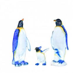 Decoratiune de exterior Pinguin din fibra de sticla, 1400 Led, dimensiune: 130*75*35cm, M-008