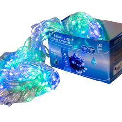 Perdea Lumini de exterior, 960 Led- Multicolor 3m x 3m, joc de lumini
