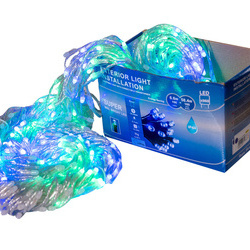 Perdea Lumini de exterior, 960 Led- Multicolor 5m x 3m, joc de lumini