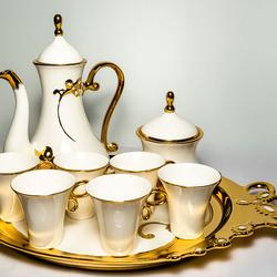 Serviciu de ceai 11 piese din ceramica fina VS48 VITTORIO SABATINI