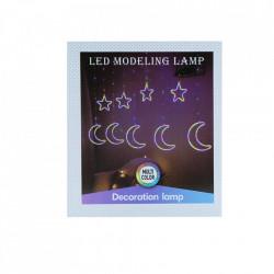 Instalatie in forma de Luna cu Stelute , BL-386-CLD, Lumina Calda
