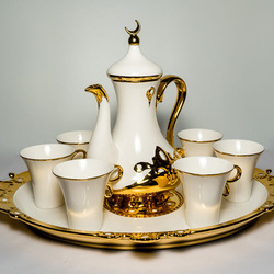 Serviciu de ceai 9 piese din ceramica fina VS49 VITTORIO SABATINI