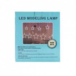 Instalatie in forma de Stele , BL-380-W, Lumina Rece