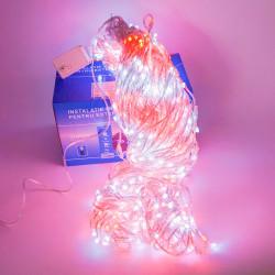 Perdea Lumini de exterior, 960 Led- Lumina Calda 3m x 3m, joc de lumini, BL-960-WR