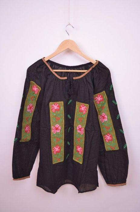Bluza traditionala cu maneca lunga, de dama, cu broderie images