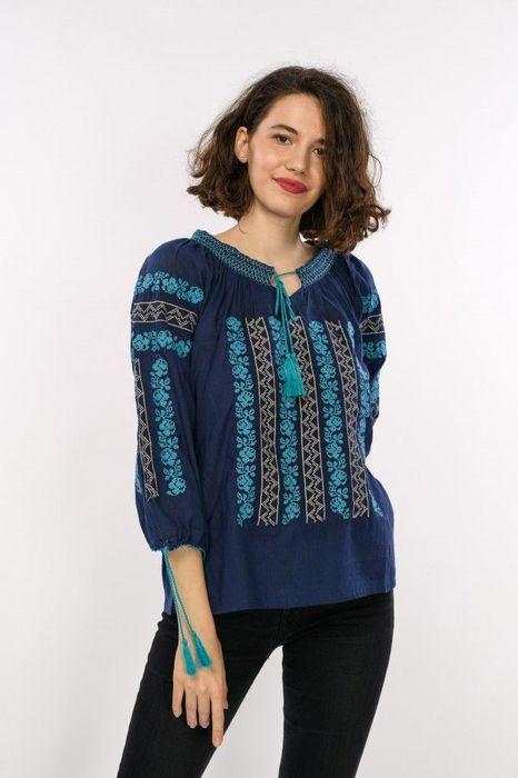 Poze Bluza traditionala de dama, cu broderie