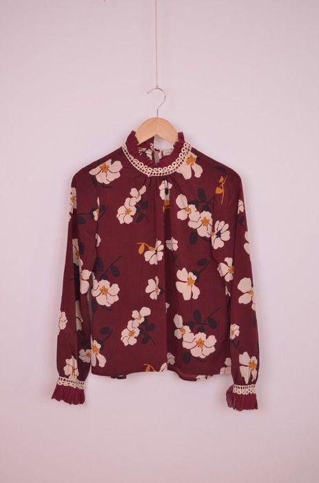 Poze Bluza de dama, cu imprimeu floral