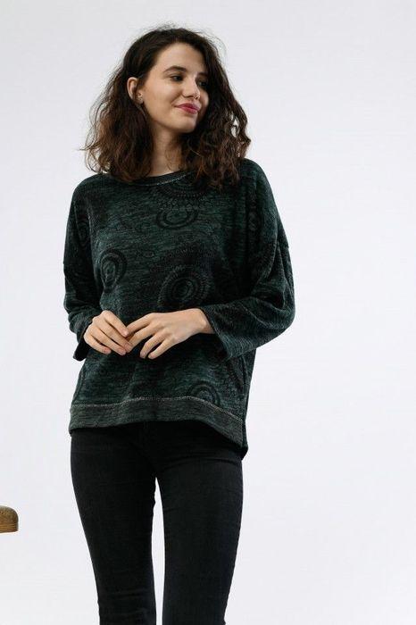 Poze Bluza de dama cu imprimeu cercuri