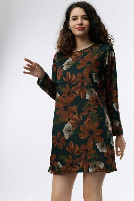 Poze Rochie cu imprimeu floral elegant