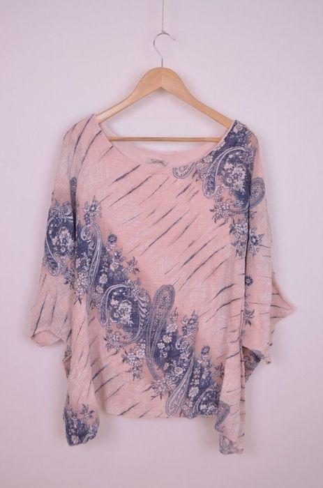 Poze Bluza de dama, dublata, bumbac, cu desen uni