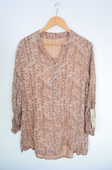 Poze Bluza de dama tip camasa, cu imprimeu