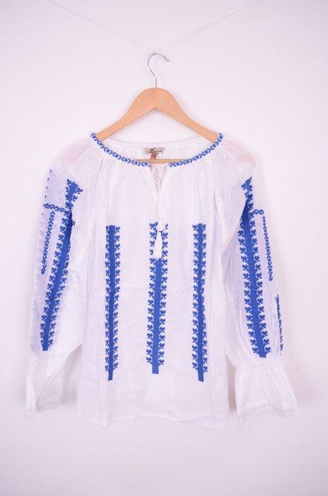 Poze Bluza traditionala de dama, cu broderie cusuta