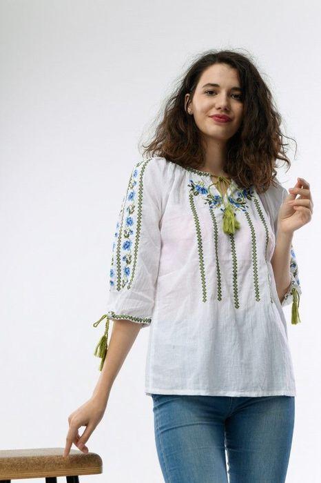Poze Bluza de dama, traditionala, cu broderie