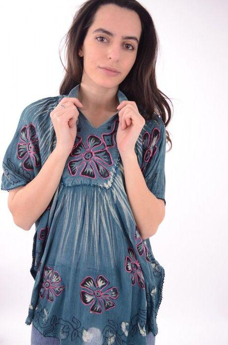 Poze Bluza cu imprimeu colorat