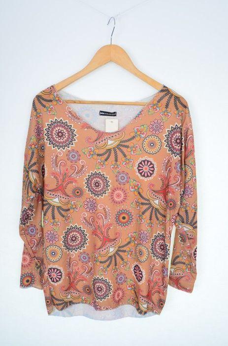 Poze Bluza dama cu imprimeu abstract cercuri