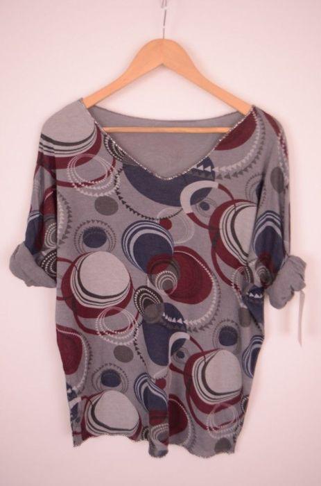 Poze Bluza dama, cu imprimeu