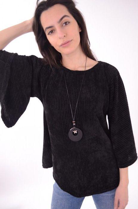 Poze Bluza de dama, din catifea