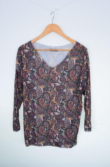 Poze Bluza dama cu imprimeu abstract paisley
