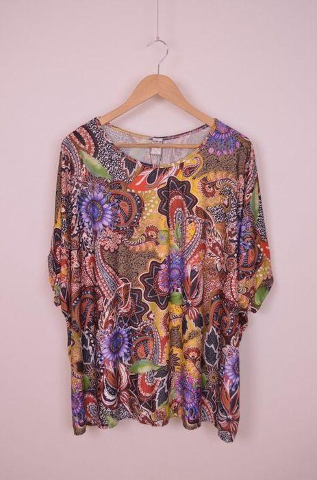 Poze Bluza de dama, marime unica, cu imprimeu vesel colorat