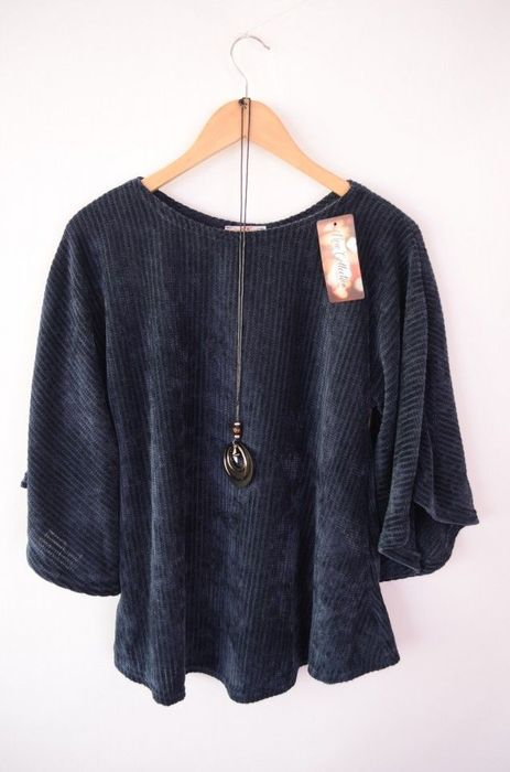 Poze Bluza pulover de dama, din catifea