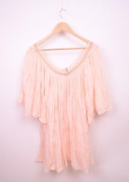 Tunica / rochie cu decolteu in v