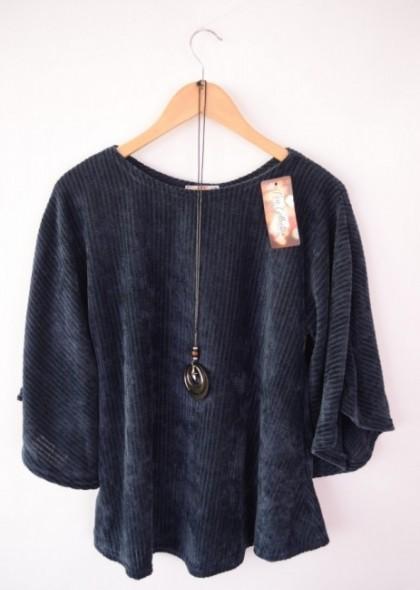 Bluza de dama, din catifea