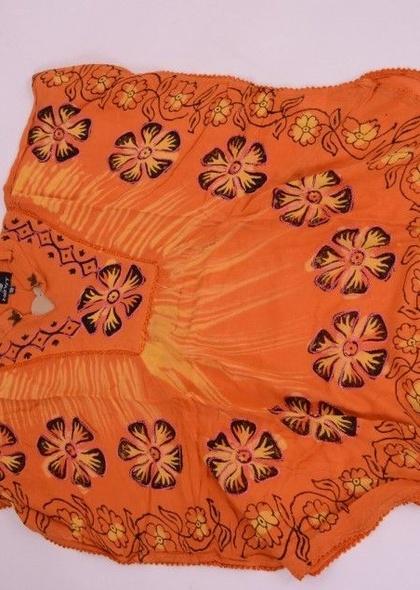 Bluza din raion cu imprimeu colorat