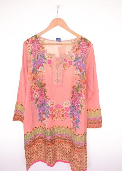 Tunica de dama cu print colorat