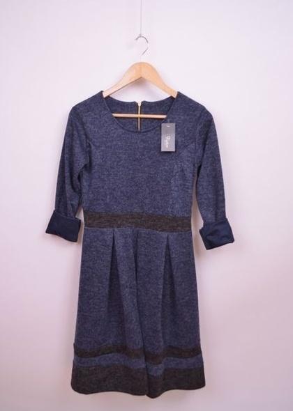 Rochie cu maneca lunga