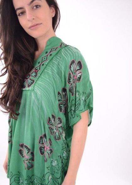 Bluza cu imprimeu colorat