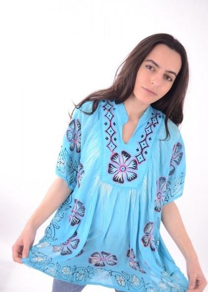 Bluza imprimeu colorat