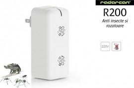Radarcan R200 aparat cu ultrasunete anti gandaci, tantari, furnici, soareci