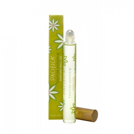 Parfum roll-on Tahitian Gardenia - dulce, 10ml. Pacifica