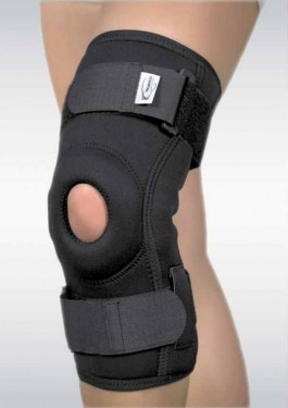Orteza de genunchi cu suport patelar si articulatii mobile – SRT 304
