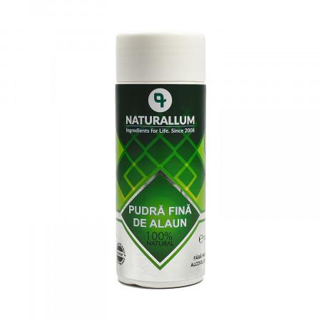 Pudra fina de alaun antiperspirant, Naturallum 120 gr