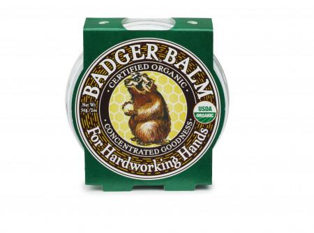 Balsam pentru maini crapate si muncite, Hardworking Hands Badger, 56 g