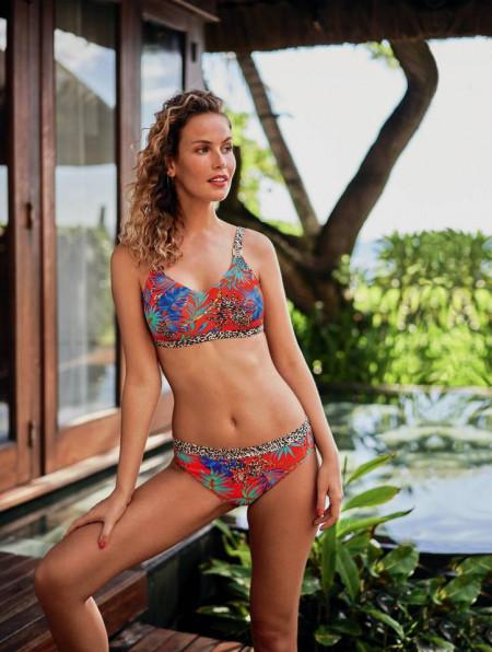 Costum de baie din doua piese - Bikini, post-mastectomie, ALBA, M0 6545