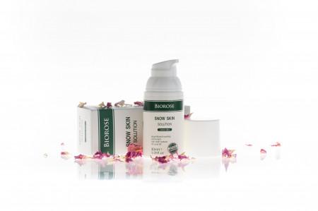 Elixir Snow Skin, pt. piele radianta, cu extract liofilizat de macese, Biorose, 30 ml