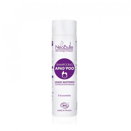 Sampon tratament cu lavanda organica, impotriva paduchilor, Neobulle, 200 ml