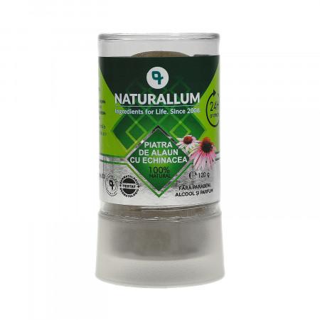 Deodorant piatra de alaun cu Echinaceea, Naturallum 120g