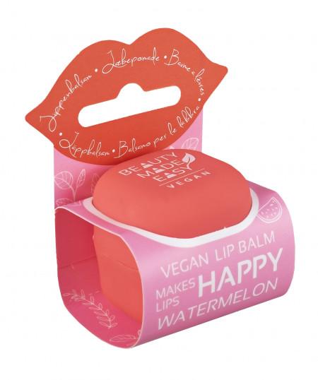 Balsam natural de buze cu pepene rosu si aloe vera, Beauty Made Easy, 6.8 g