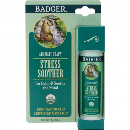 Balsam aromaterapie, Tension Soother, Badger 17 g