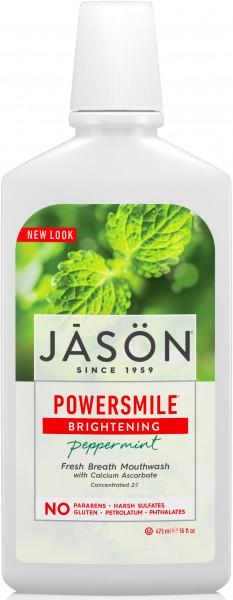 Apa de gura Power Smile pt albire si respiratie proaspata, Jason