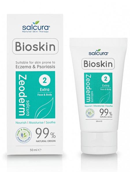 Zeoderm - crema tratament reparatoare si hidratanta pt pielea cu eczema sau psoriazis, fata si corp, Salcura, 50 ml