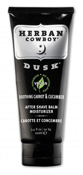Balsam After Shave hidratant Dusk, cu morcov si castravete, Herban Cowboy, 100 ml