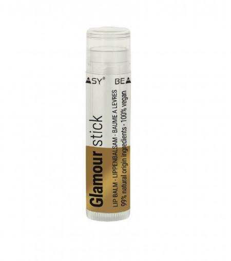 Balsam glamour cu particule de sclipici, unt de shea si unt de mango, Beauty Made Easy, 4.8 g